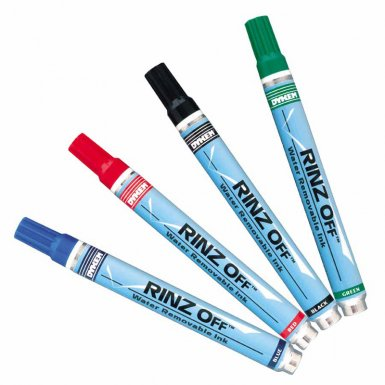 ITW Professional Brands 91105 DYKEM RINZ OFF Water Removable Temporary Markers