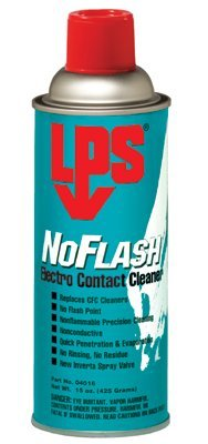 LPS NoFlash Electro Contact Cleaners