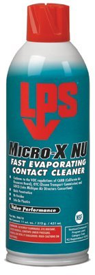 ITW Professional Brands 6616 LPS Micro-X NU Fast Evaporating Contact Cleaners