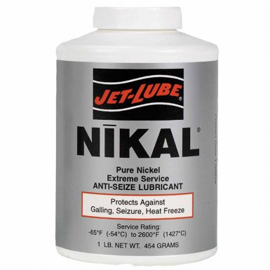 Jet-Lube 13602 Nikal High Temperature Anti-Seize & Gasket Compounds