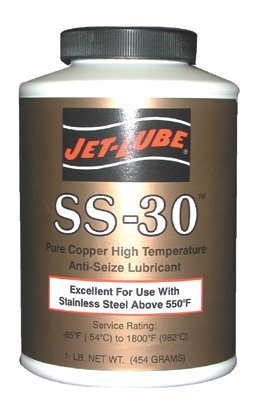 Jet-Lube 12504 SS-30 High Temperature Anti-Seize & Gasket Compounds
