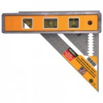 Johnson Level & Tool 1056-0000 Torpedo Level and Rafter Squares