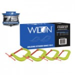 JPW Industries 11114 Wilton Spark-Duty 400CS Hi-Vis C-Clamp Kit