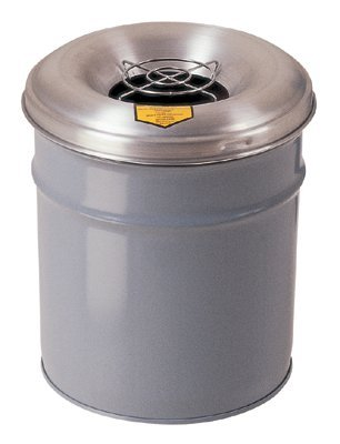 Justrite 26624G Cease-Fire Smoking Receptacles