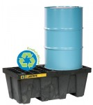 Justrite 28636 EcoPolyBlend Spill Control Pallets