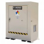 Justrite 911020 Non-Combustible Outdoor Safety Locker - Natural Draft Ventilation