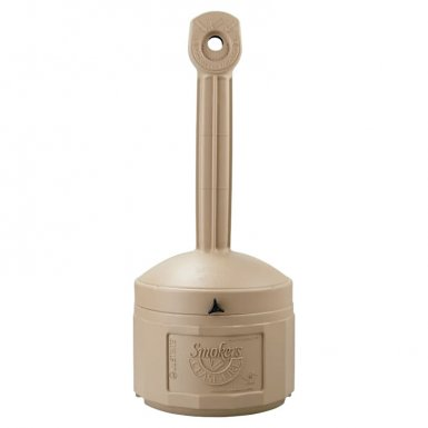 Justrite 26800B Smokers Cease-Fire Cigarette Butt Receptacles