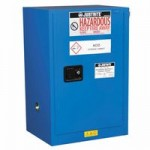 Justrite 861228 Sure-Grip EX Compac Hazardous Material Steel Safety Cabinet