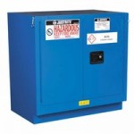 Justrite 862328 Sure-Grip EX Undercounter Hazardous Material Steel Safety Cabinet