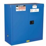 Justrite 863028 Sure-Grip EX Hazardous Material Steel Safety Cabinet