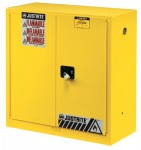 Justrite 893020 Yellow Safety Cabinets for Flammables