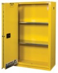 Justrite 894580 Yellow Safety Cabinets for Flammables