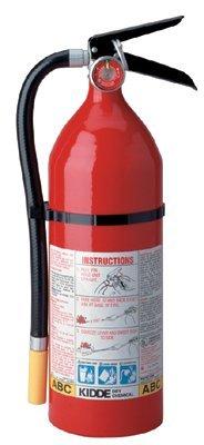 Kidde 466112 ProLine Multi-Purpose Dry Chemical Fire Extinguishers - ABC Type