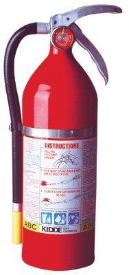 Kidde 468001 ProPlus Multi-Purpose Dry Chemical Fire Extinguishers - ABC Type