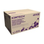 KIMBERLY-CLARK PROFESSIONAL 48635 Kimberly-Clark Professional KIMTECH* Precision Cleaning Cloths +Chemical Applications