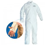 KIMBERLY-CLARK PROFESSIONAL 42528 Kleenguard* A40 Coveralls with Breathable Back