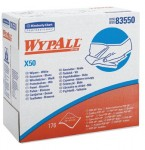 KIMBERLY-CLARK PROFESSIONAL 83550 WypAll X50 Wipers
