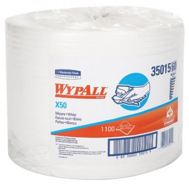 KIMBERLY-CLARK PROFESSIONAL 35015 WypAll X50 Wipers