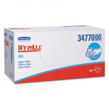 KIMBERLY-CLARK PROFESSIONAL 34770 WypAll* X60 Wipers