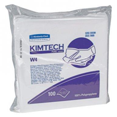 Kinedyne 33330 KIMTECH* W4 Critical Task Dry Wipers