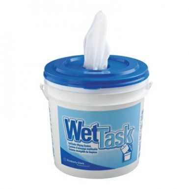 Kinedyne KCC06211 KIMTECH* Wipers for the WETTASK* System, Quat Disinfectants and Sanitizers