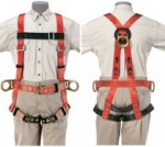KLEIN TOOLS 87080 Full-Body Fall-Arrest/Positioning Harness