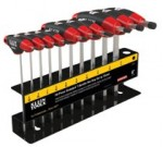 KLEIN TOOLS JTH410E Journeyman T-Handle Hex Key Sets