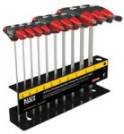 KLEIN TOOLS JTH610EB Journeyman T-Handle Ball-Hex Key Sets