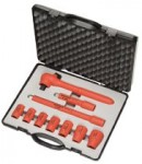 Knipex 989911S3 Insulated Socket Sets