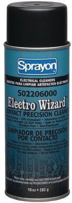 Krylon S02206000 Sprayon Electro Wizard Contact Precision Cleaners