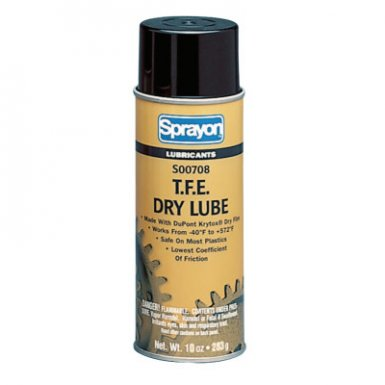 Krylon S00708000 Sprayon T.F.E. Dry Lubes
