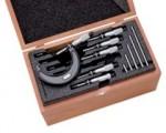 L.S. STARRETT 68045 S436.1 Series Micrometer Sets