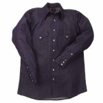 Lapco DS-16-1/2-M 1000 Blue Denim Shirts
