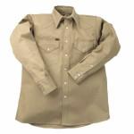 Lapco LS-17-1/2-L 950 Heavy-Weight Khaki Shirts