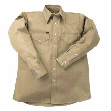 Lapco LS-17-1/2-XS 950 Heavy-Weight Khaki Shirts