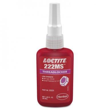 Loctite 231483 222MS Threadlockers, Low Strength/Small Screw