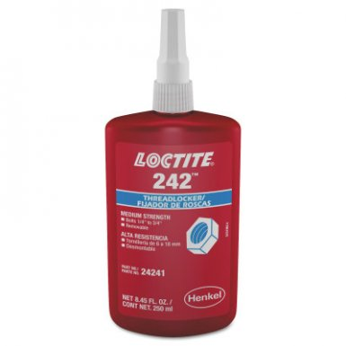 Loctite 135356 242 Threadlockers, Medium Strength