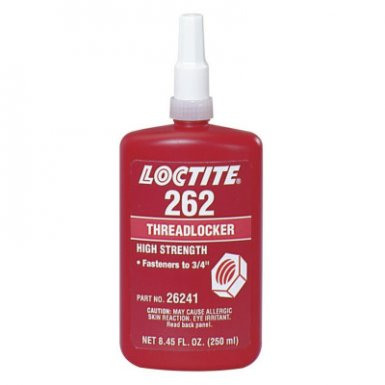 Loctite 135375 262 Threadlockers, Medium to High Strength