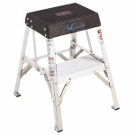 Louisville Ladder AY8002 AY8000 Series Aluminum Step Stands