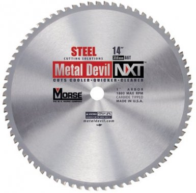M.K. Morse CSM72540NSC Metal Devil NXT Circular Saw Blades