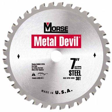 M.K. Morse CSM754AC Metal Devil Circular Saw Blades
