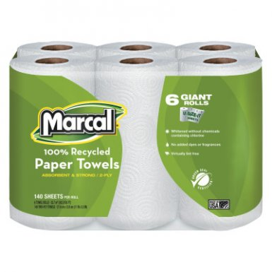 Marcal MRC6181CT 100% Premium Recycled Roll Towels