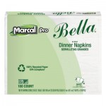 Marcal MRC06410 100% Recycled Bella Dinner Napkins