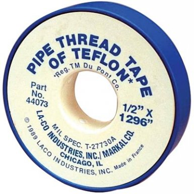 PTFE Pipe Thread Tapes