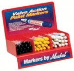 Markal Valve Action Paint Marker Counter Displays 434-96811