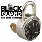 MASTER LOCK 1525-V660 General Security Combination Padlocks with Key Control