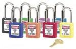 MASTER LOCK 411ORJ No. 410 & 411 Lightweight Xenoy Safety Lockout Padlocks