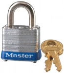 MASTER LOCK 7D No. 7 Laminated Steel Pin Tumbler Padlocks