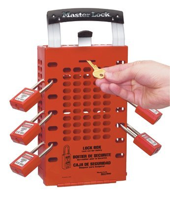 MASTER LOCK 503RED Safety Series Latch Tight Lock Boxes