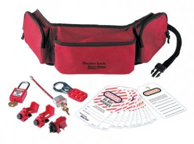 MASTER LOCK 1456E410 Safety Series Personal Lockout Pouches